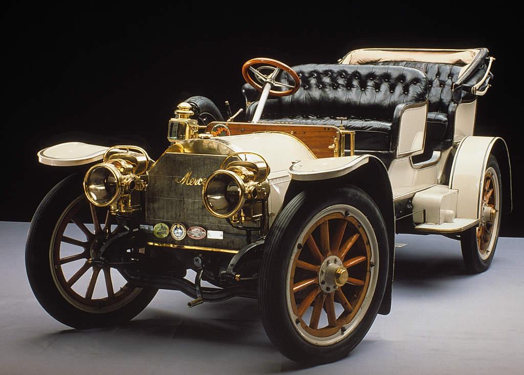 Mercedes-Simplex 28/32 PS Tourenwagen, 1904 (Bild: Daimler AG)