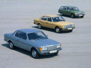 Mercedes-Benz E-Klasse W 123, Coupé, Limousine und Kombi, 1976 bis 1985 (Bild: Daimler AG)
