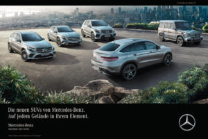 Die Daimler SUV-Familie (Bild: Daimler AG)