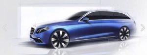 T-Time: Am 6. Juni 2016 wird das T-Modell der neuen E-Klasse (W 213) präsentiert (Bild: Daimler AG)