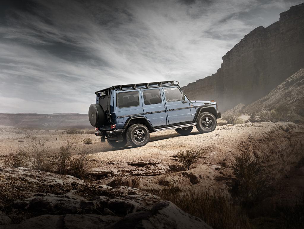 G-Pur: Mercedes-Benz G 350 d Professional (BR 463) (Bild: Daimler AG)
