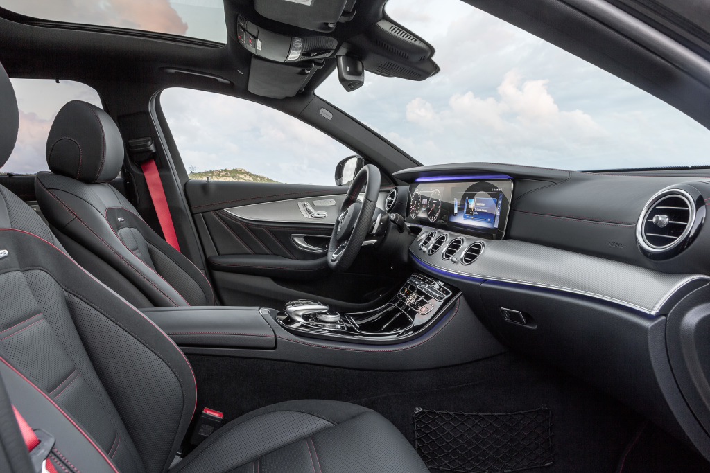 Schnell mal was einladen mercedes amg e 43 4matic t for Artico interieur