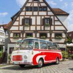 Ein Setra Bus aus dem Jahr 1965 (Bild: Daimler AG)