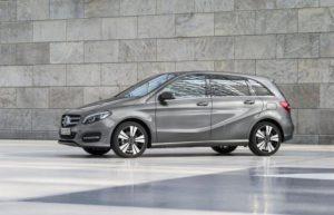 Der durchschnittliche B-Klasse Kunde ist 55,6 Jahre alt (Bild: Daimler AG)