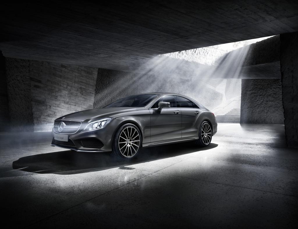 CLS Coupé Final Edition, W 218 (Bild: Daimler AG)