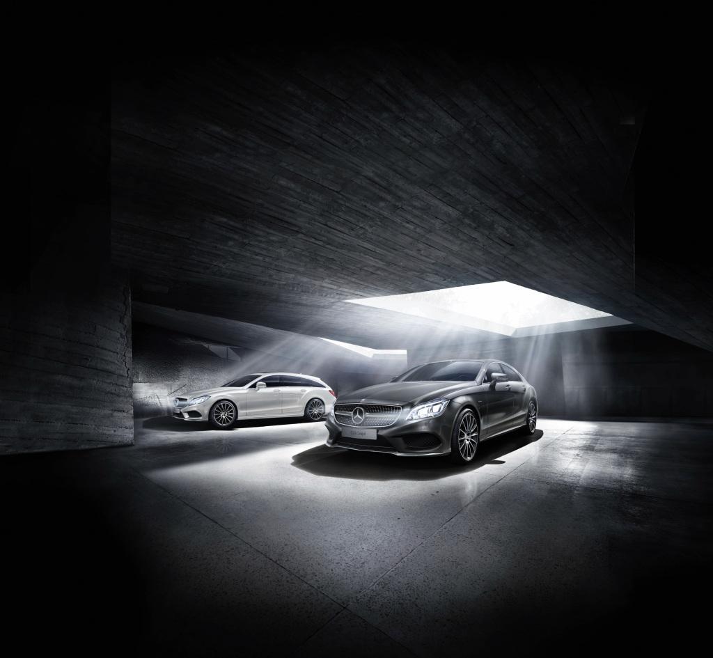 CLS Coupé und CLS Shooting Brake Final Edition, W 218, S 218 (Bild: Daimler AG)