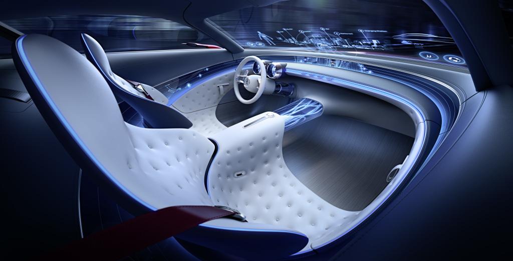 Vision Mercedes-Maybach 6: Studie eines extravaganten Coupés (Bild: Daimler AG)