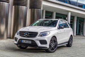Vergleichsstück: Mercedes-Benz GLE vor einer Probefahrt (Bild: Daimler AG)