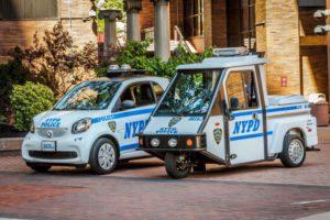 smart forCOPS: smart fortwo für die New Yorker Polizei (Bild: Daimler AG)