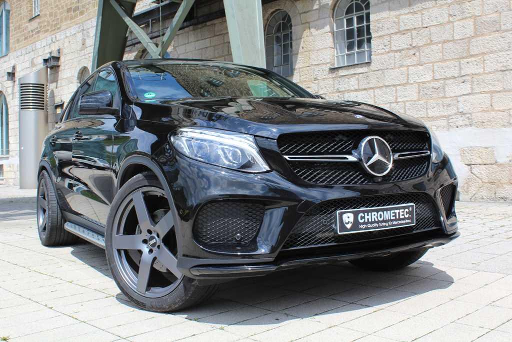 Mercedes GLE Coupé von CHROMETEC (Bild: Chrometec GmbH/Jordi Miranda)