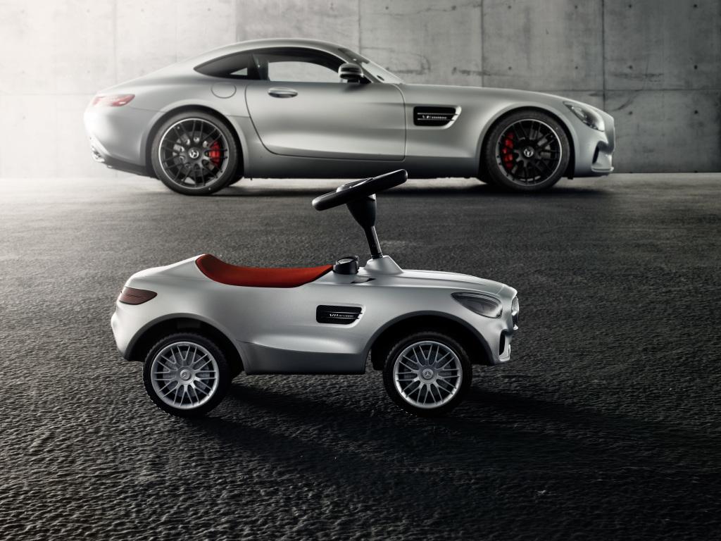 Bobby-AMG GT in Silber (Bild: Daimler AG)