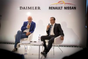 Daimlerchef Dr. Dieter Zetsche und Carlos Ghosn, CEO der Renault-Nissan Allianz (Bild: Daimler AG)