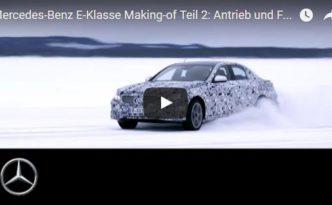 Teil 2 - Die Entstehung der neuen E-Klasse (W 213, Bild Daimler AG)