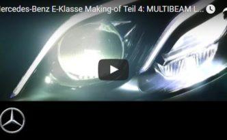 Multibeam LED in der E-Klasse (W 213) - klasse, was man alles sehen kann (Bild: Daimler AG)