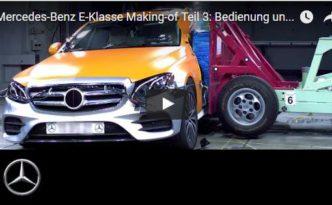 PreSafe Impils Seite in der neuen E-Klasse W 213 (Bild: Daimler AG)