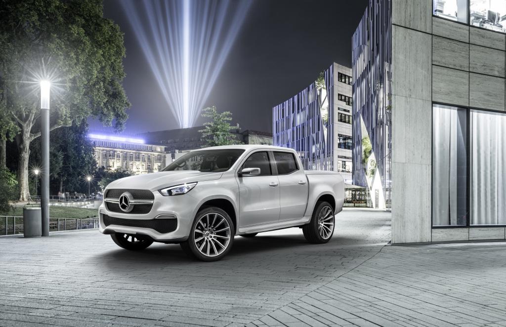 Mercedes-Benz Concept X-CLASS stylish explorer –  Weißmetallic (Bild: Daimler AG)