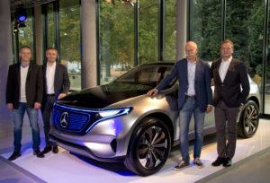 Mercedes-Benz Werk Bremen baut erstes Serienmodell der neuen Generation von Elektrofahrzeugen (Bild: Daimler AG)