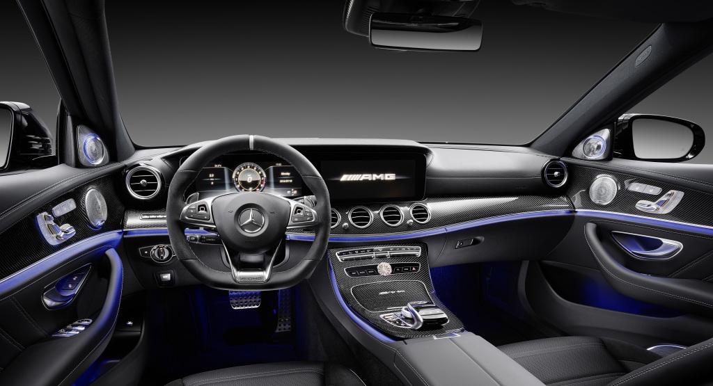 Mercedes-AMG E 63 S 4MATIC+, Interieur (Bild: Daimler AG)