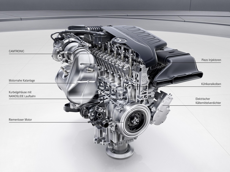 Mercedes-Benz Sechszylinder-Benzinmotor M256 (Bild: Daimler AG)