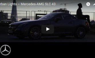 Video Urban Lights - Mercedes-AMG SLC 43 (Bild: Daimler AG)