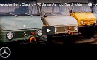 Der Unimog wird 70! (Bild: Daimler AG)