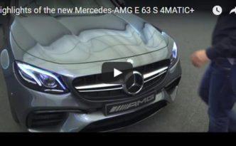 Video: Highlights des Mercedes-AMG E 63 S 4MATIC+ (Bild: Daimler AG)