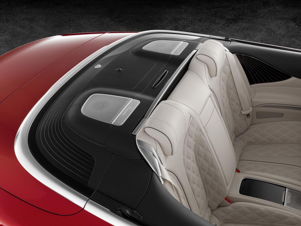 Mercedes-Maybach S 650 Cabriolet, Verdeckkasten (Bild: Daimler AG)
