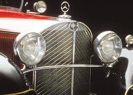 """Mercedes-Benz Typ """"Großer Mercedes"""" (Baureihe W 07) - Statussymbol der 1930er Jahre (Bild: Daimler AG)"""
