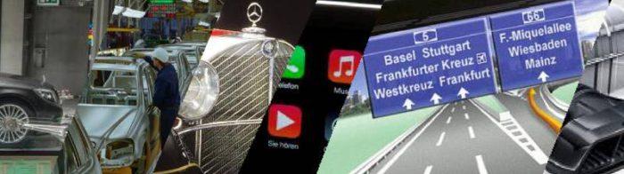 Automobile Kurznachrichten 48/2016 (Collage aus Bildern Daimler AG)