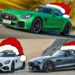 Weihnachtsgeschenk: Drei neue AMG GT Modelle bestellbar (Bild: Daimler AG, Eigenkreation)